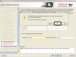 Oracle 11g release 2 on Linux install