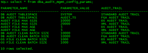 Oracle Audit Tablespace Change